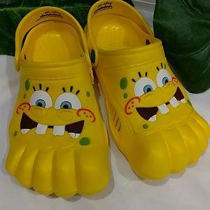 Spongebob Form Crocs Sz Kids 23